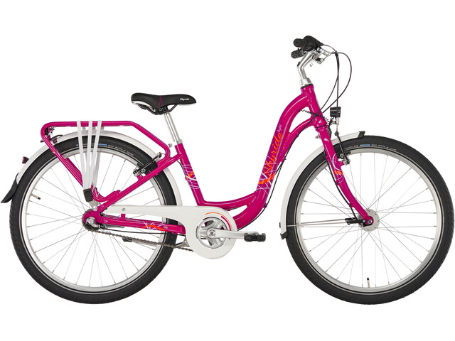 "Puky Skyride Light 24"" Vélo 3-cours Fille, berry"